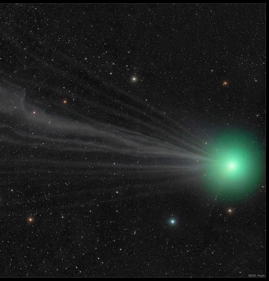 If you miss the Comet Lovejoy on Friday you will need to wait another 11,000 years