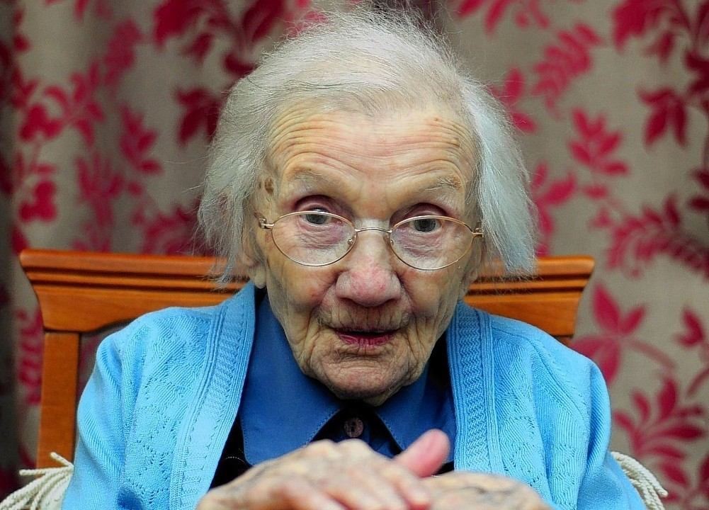 Jessie Gallan has turned 109