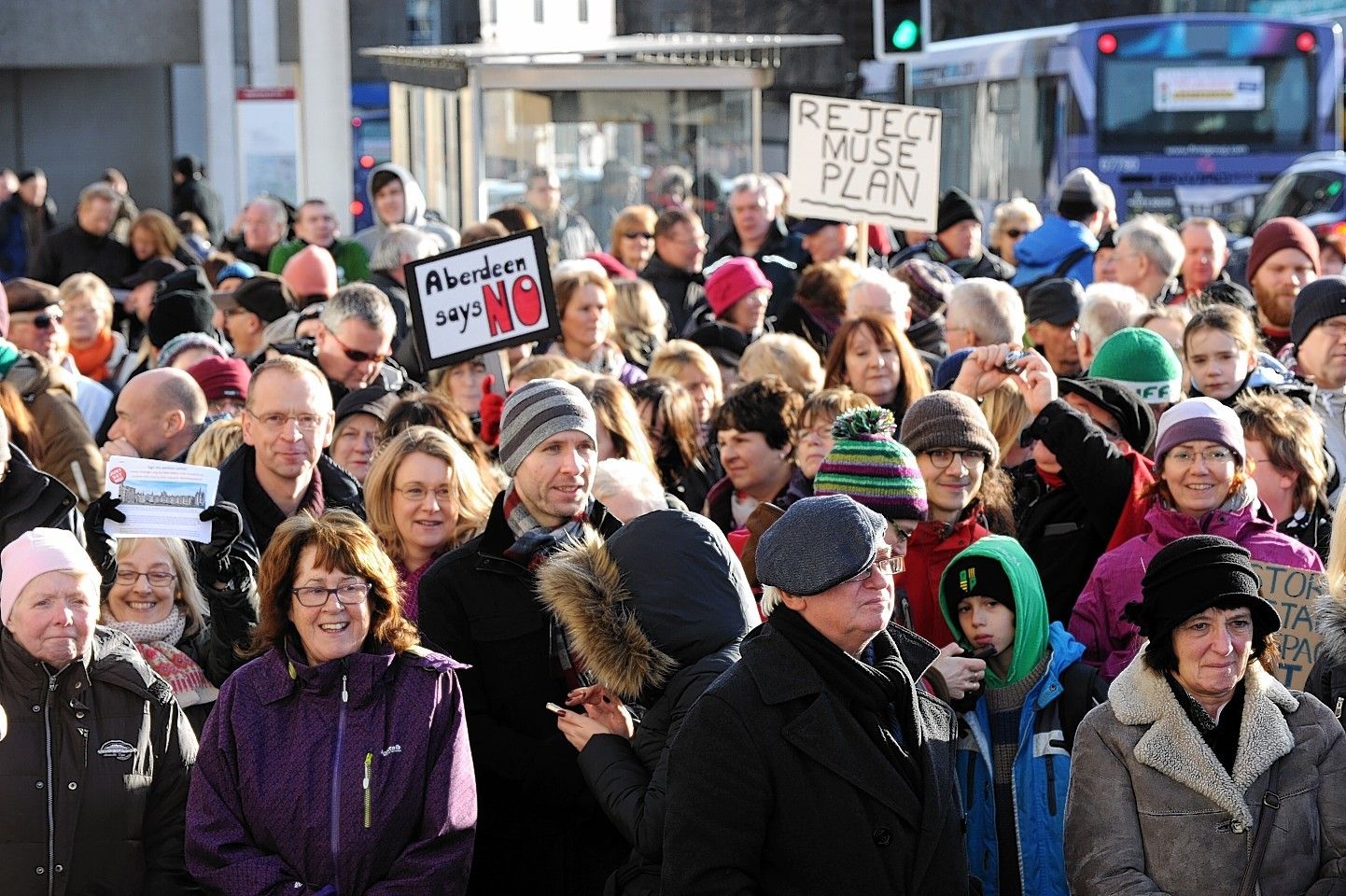 Hundreds of people are expected to turn out to voice their concerns again tomorrow