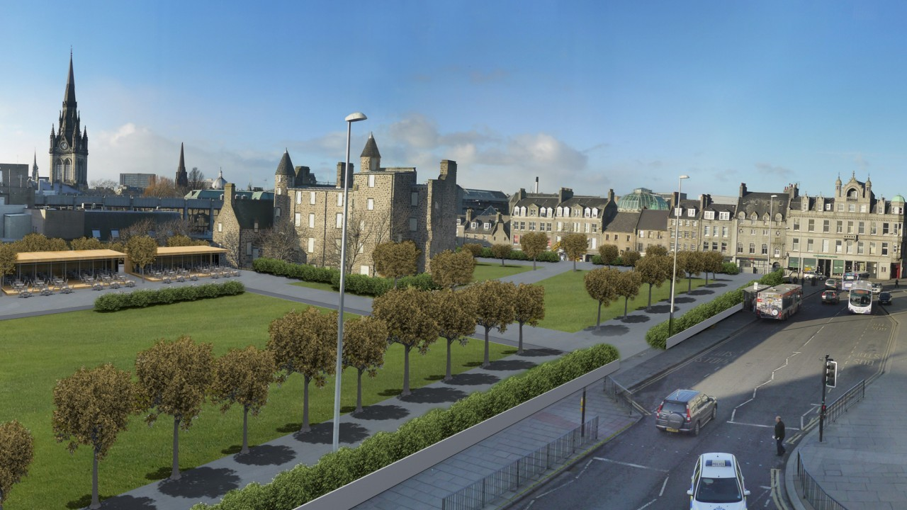 How Marischal Square might look
