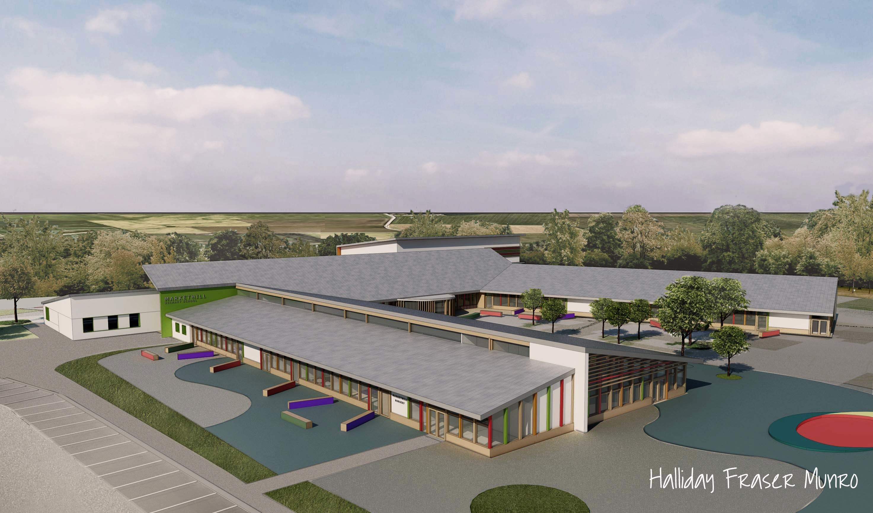 The plans for a new primary school