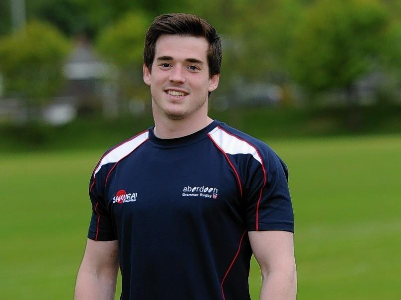 Aberdeen Grammar captain Morgan Ward
