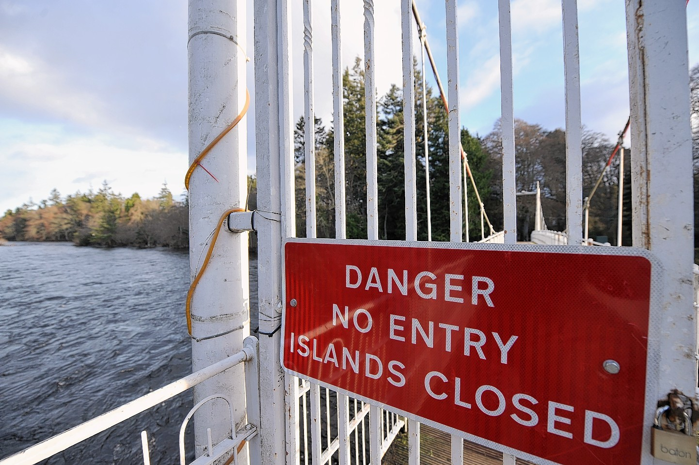 David Stewart MSP is concerned about how often Ness Islands has to close due to flooding
