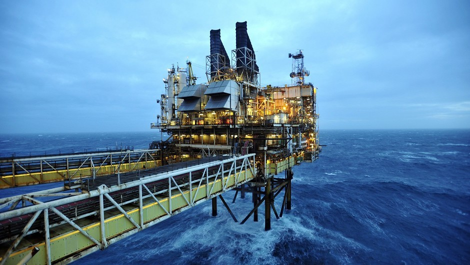 North sea platform