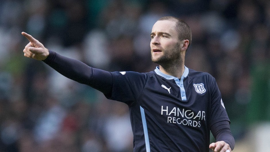 Dundee's James McPake is expected to miss the game