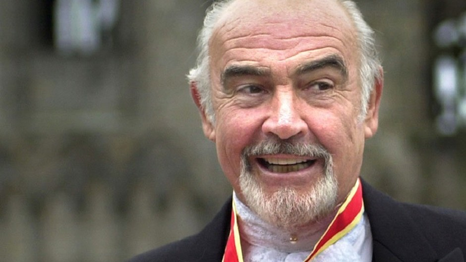Sir Sean Connery was named as the Scot most Britons would like to share a dram with