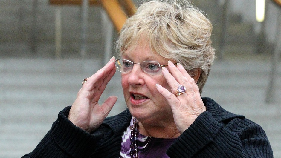 Margo MacDonald introduced the Assisted Suicide (Scotland) Bill before her death last April