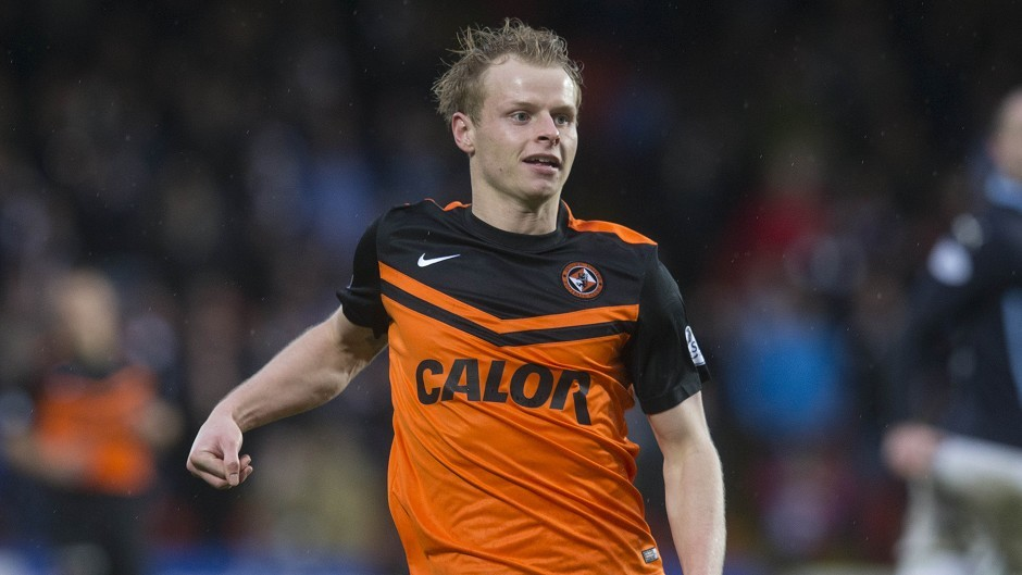Gary Mackay-Steven's contract expires at the end of the season