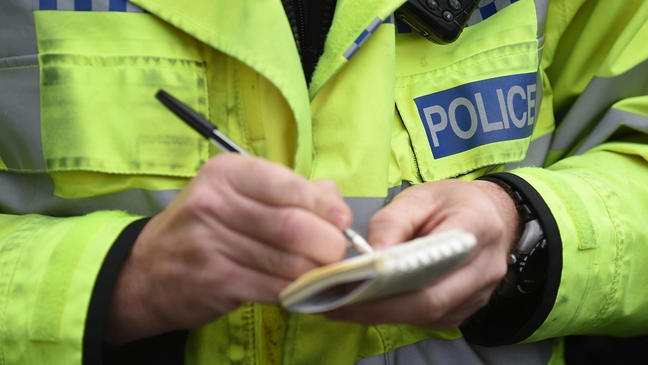 Police are warning of delays on the A90