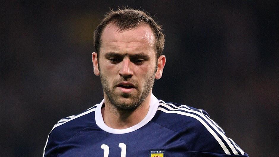 James McFadden won 48 caps for Scotland.