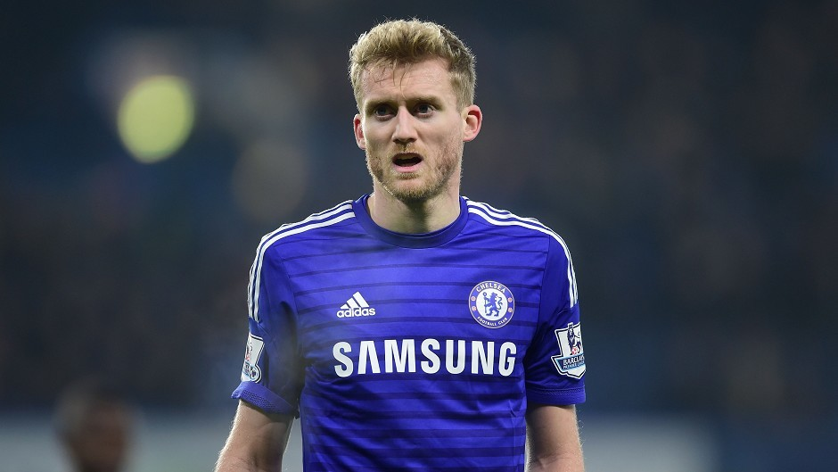 Chelsea's Andre Schurrle is close to a return to the Bundesliga