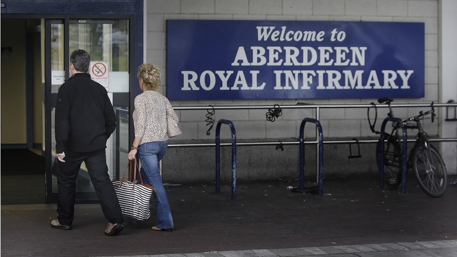 The doctor worked at Aberdeen Royal Infirmary at the time of her misconduct