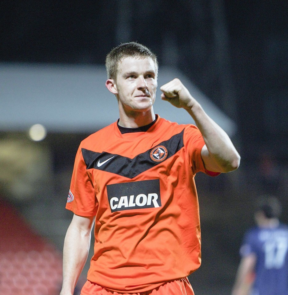Paul Dixon could get the chance to pull his Dundee United strip back on