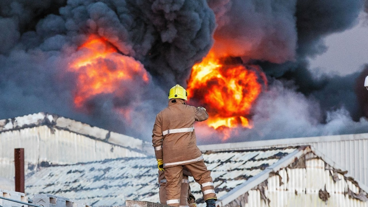 Peterhead fish factory fire