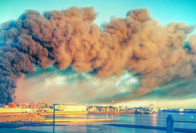 Quick thinking staff ensured the town was saved from a toxic cloud of chemicals