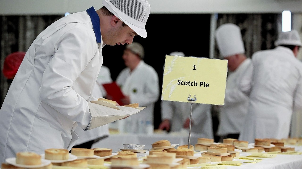 Over 100 bakeries and butchers entered the Scotch Pie Championships