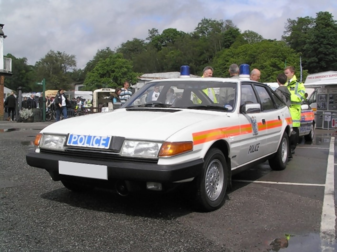 The police car up for auction