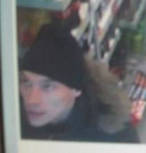 CCTV from RS McCalls HB,  Byron Sq Aberdeen of a man police want to speak to in relation to the thefts