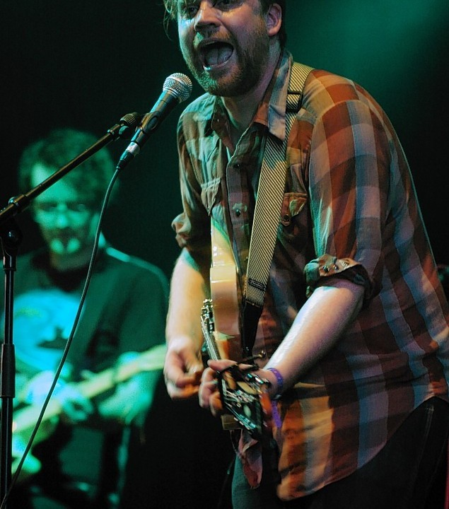 Just Jack, Frightened-Rabbit, Dizzie-Rascal and Blood Red Shoes all took to the stage in 2009