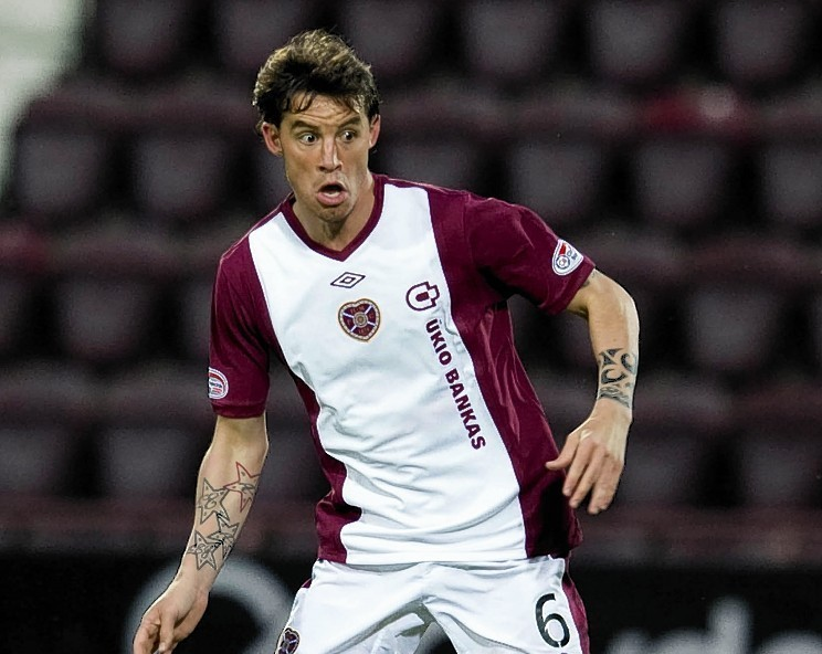 Ruben Palazuelos impressed for the Jambos during his previous spell in Scotland