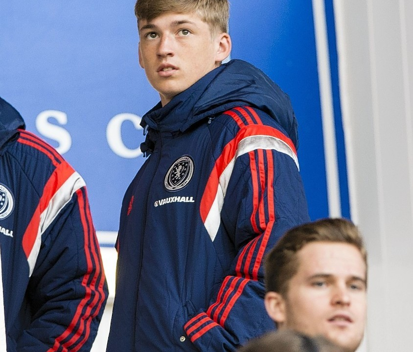Ryan Gauld has previously been included in Strachan's squad but this week was named in the under-21 pool