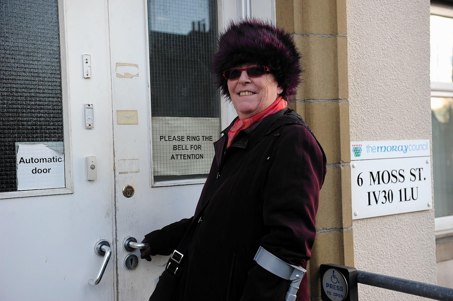 Sandra Dow, manager of Moray Citizens Advice