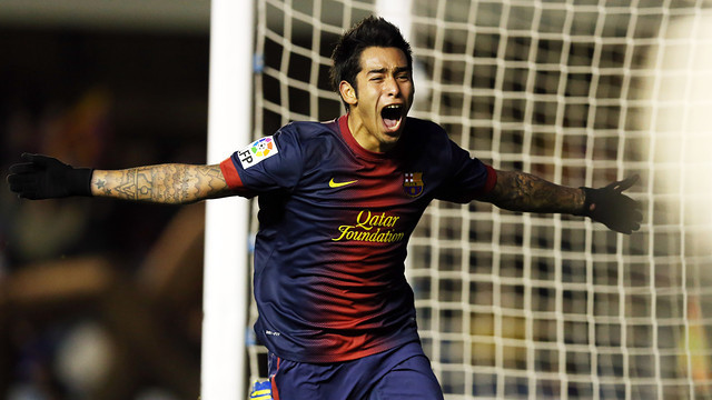 Sergio Araujo was linked with Real Madrid before joining Barcelona in 2012 as a 20-year-old but he was unable to secure a permanent move to the Nou Camp