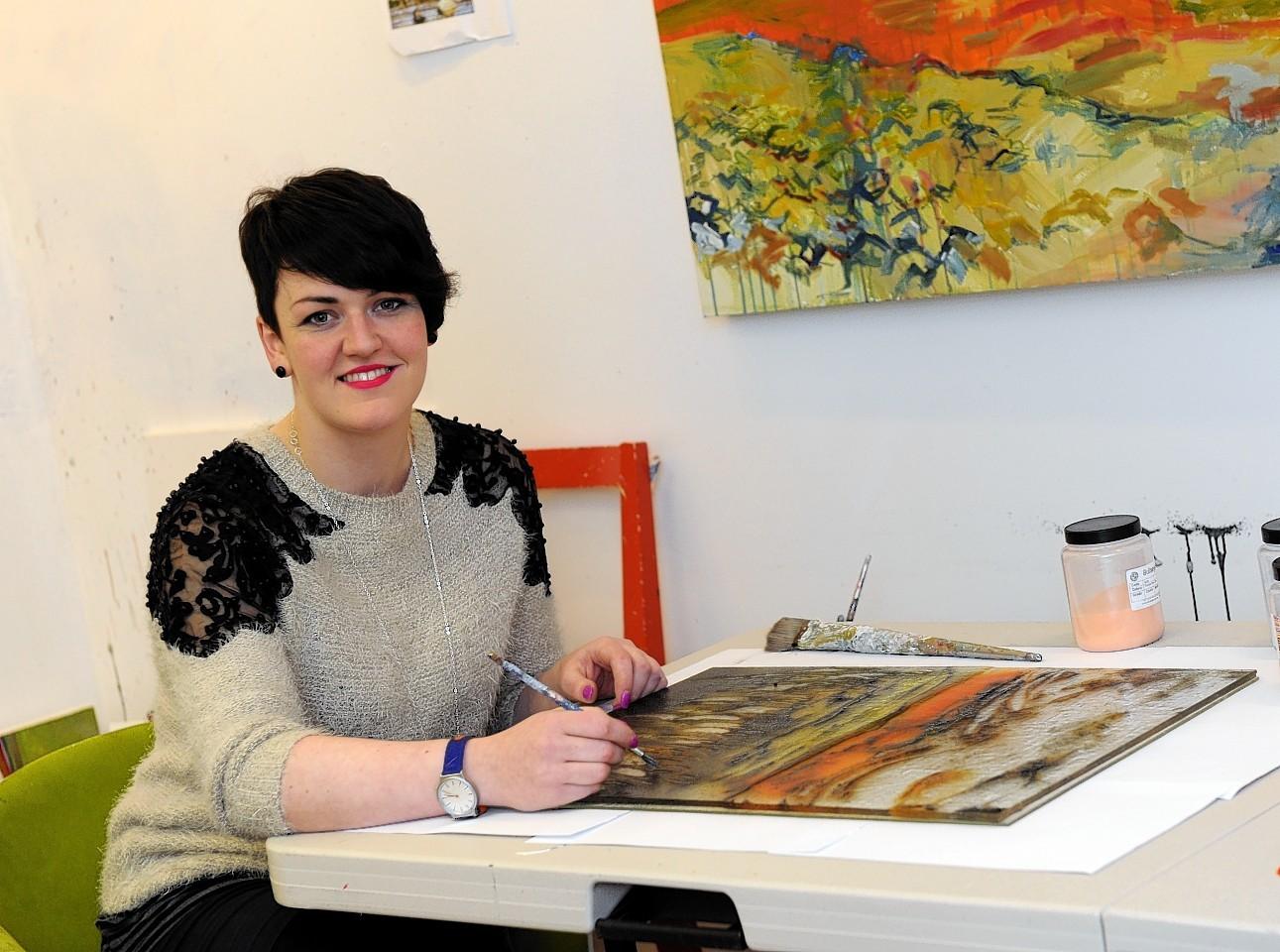 Shelagh Swanson will be showcasing her work