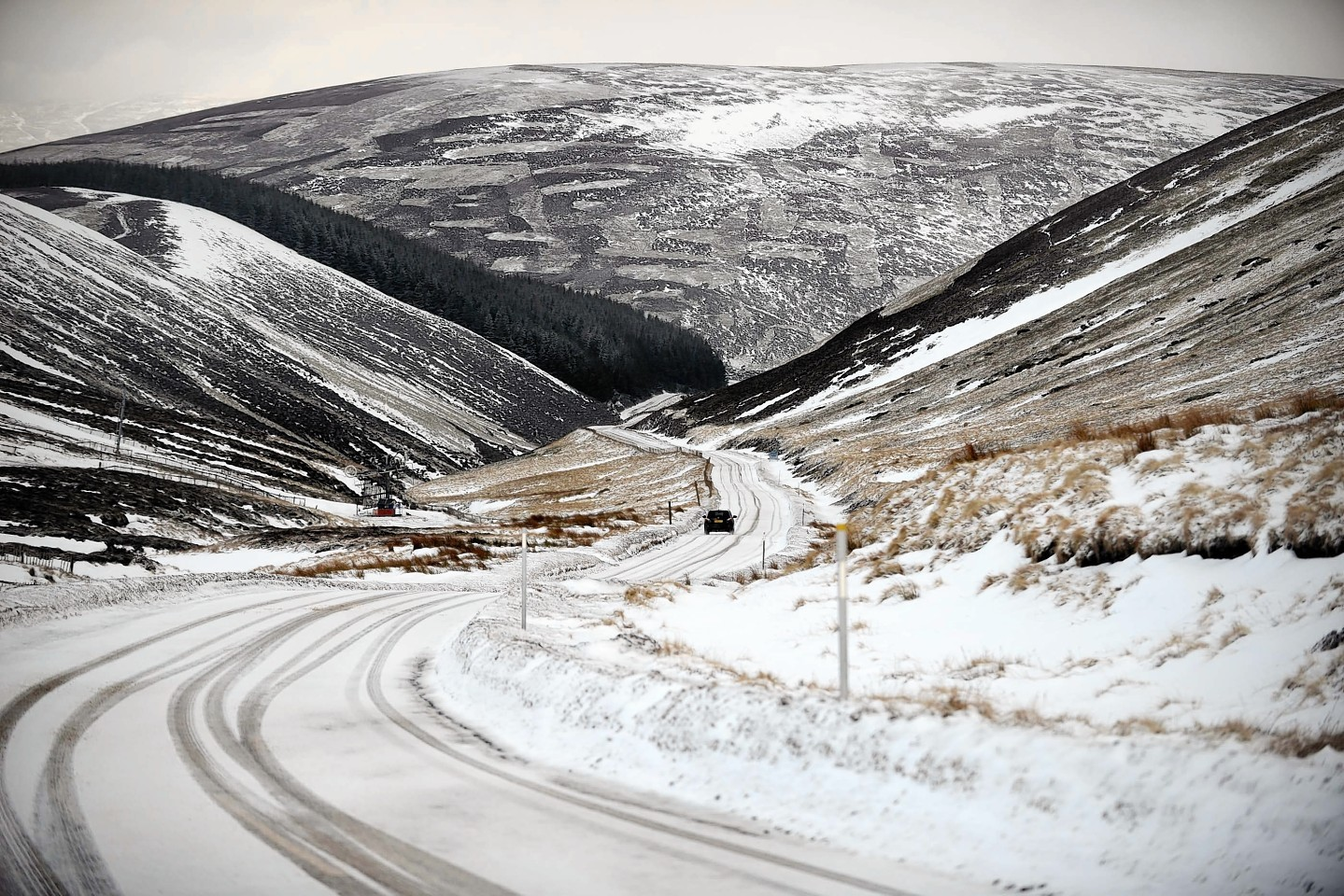 Snow in Aberdeenshire from last year