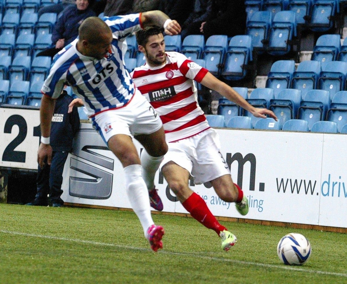 Stephen Hendrie looks like he will be the latest in a long line of Hamilton Accies youth academy products to head south