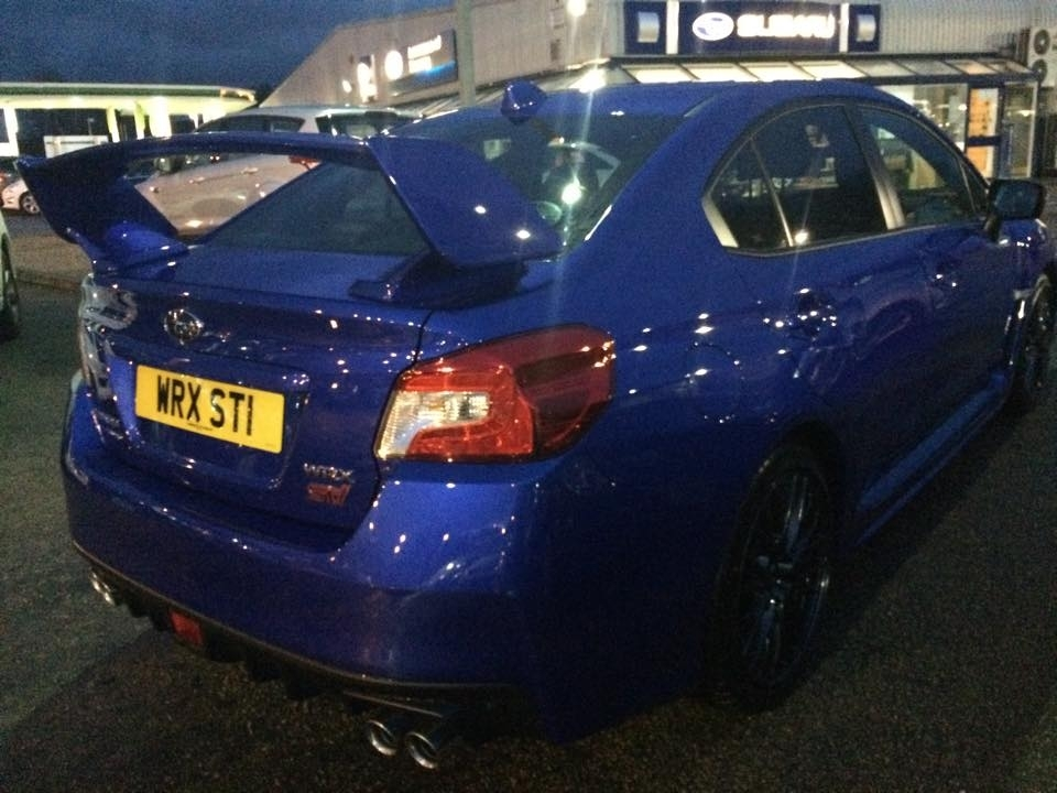 An image of the Subaru Impreza 1 police believe could have been used in the theft