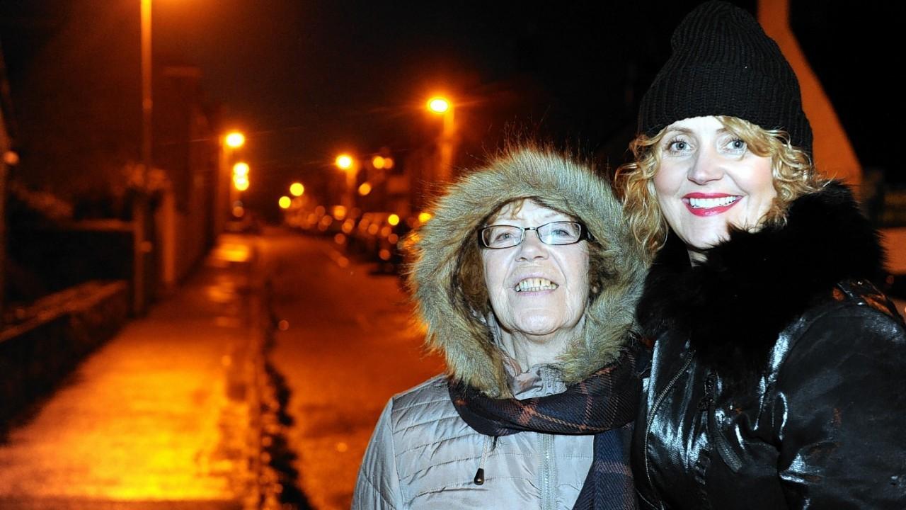 Norma Brown and Maria Hamilton from Australia