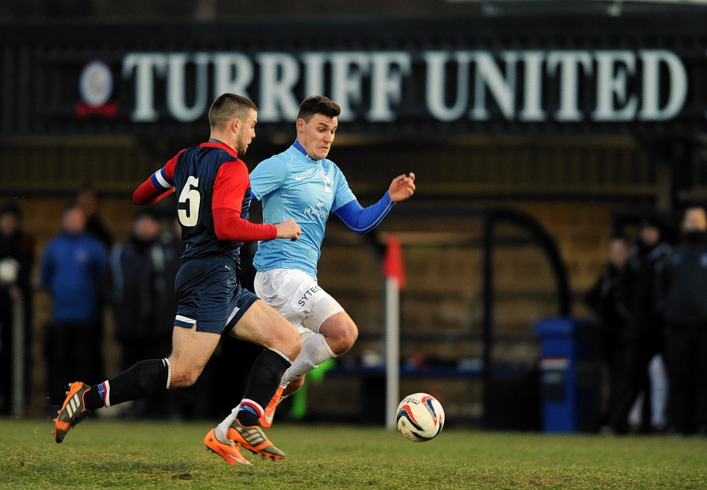 Turriff United moved top of the league with a 1-0 win over Deveronvale