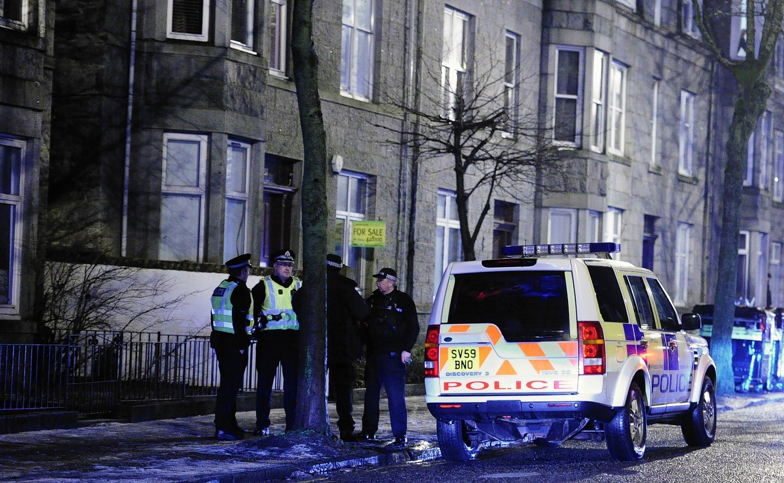Police seal off Union Grove in Aberdeen