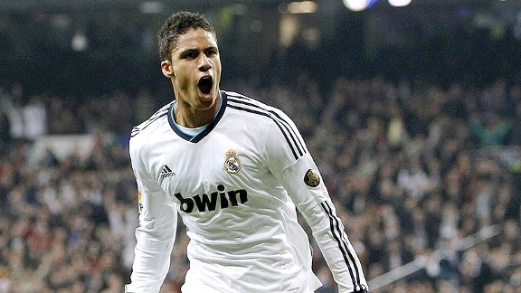 Real Madrid defender Raphael Varane could link up with his former boss at Chelsea