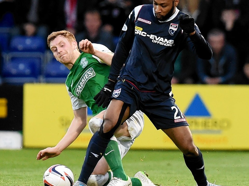Yoann Arquin made 35 appearances for the Staggies since his arrival last January