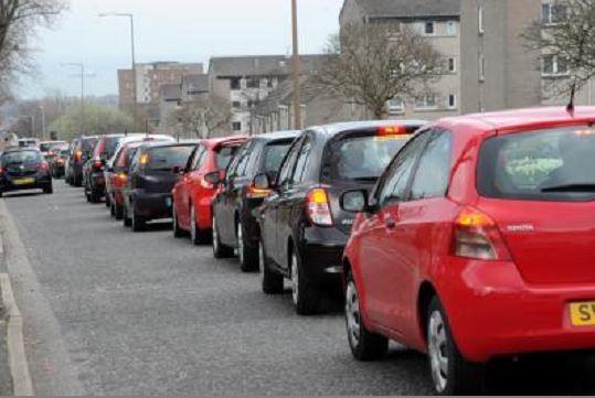 Aberdeen traffic