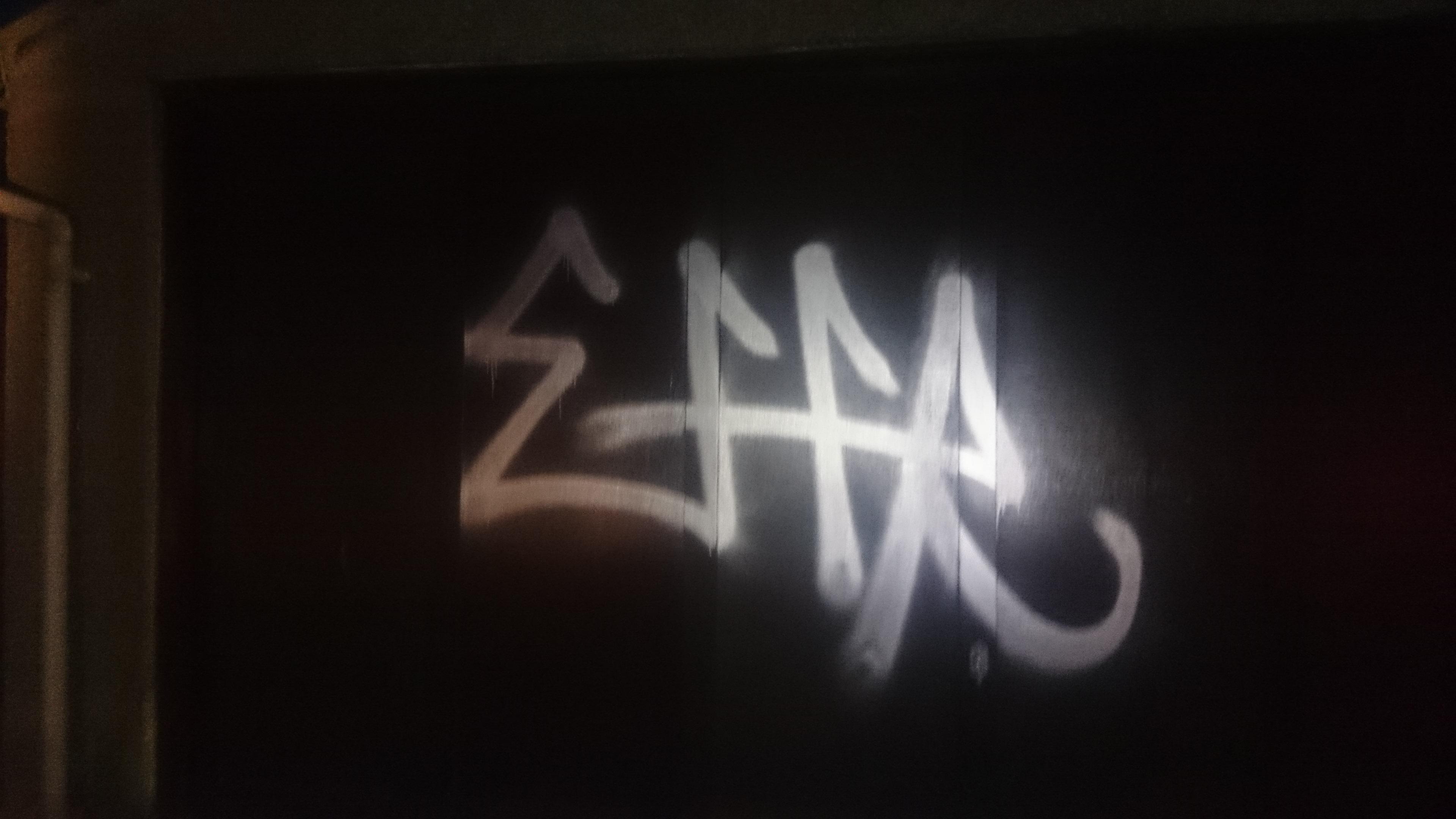 Graffiti in Aberdeen's west end