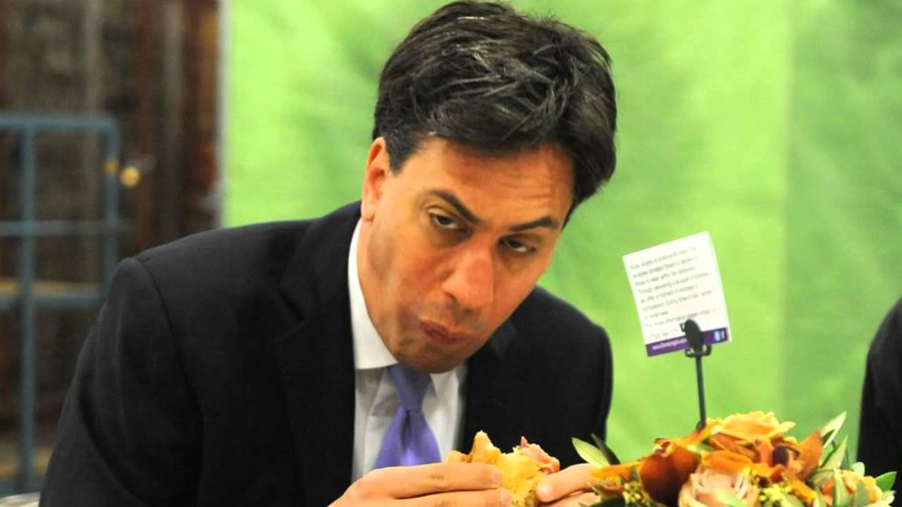 Ed Miliband and THAT photo with the bacon sandwich
