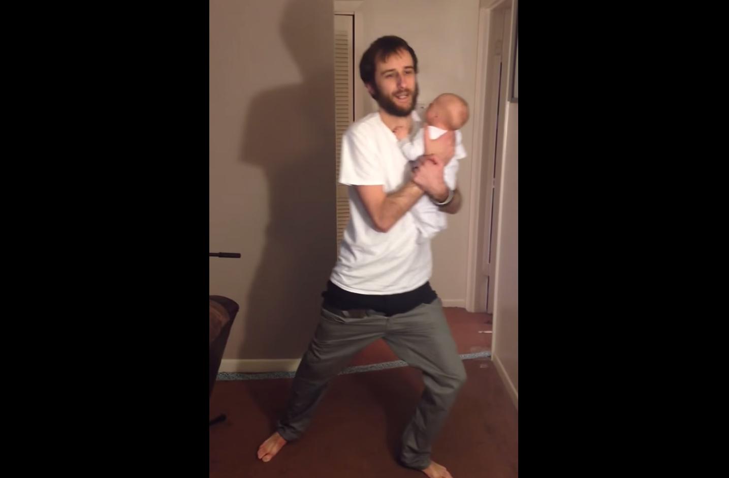 This dad has fatherhood nailed