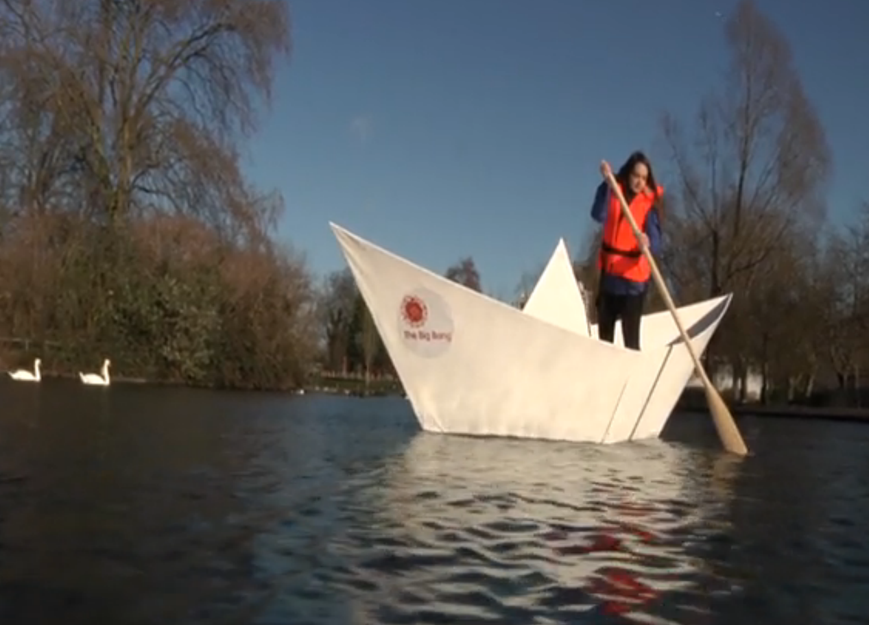 The boat made its maiden voyage in London