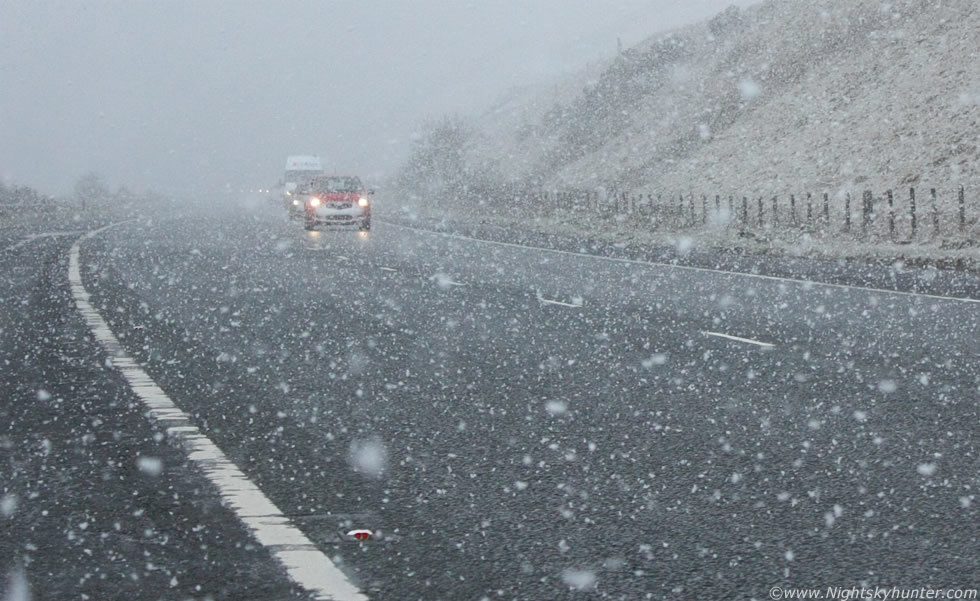 Snow  is expected to move into the north-east