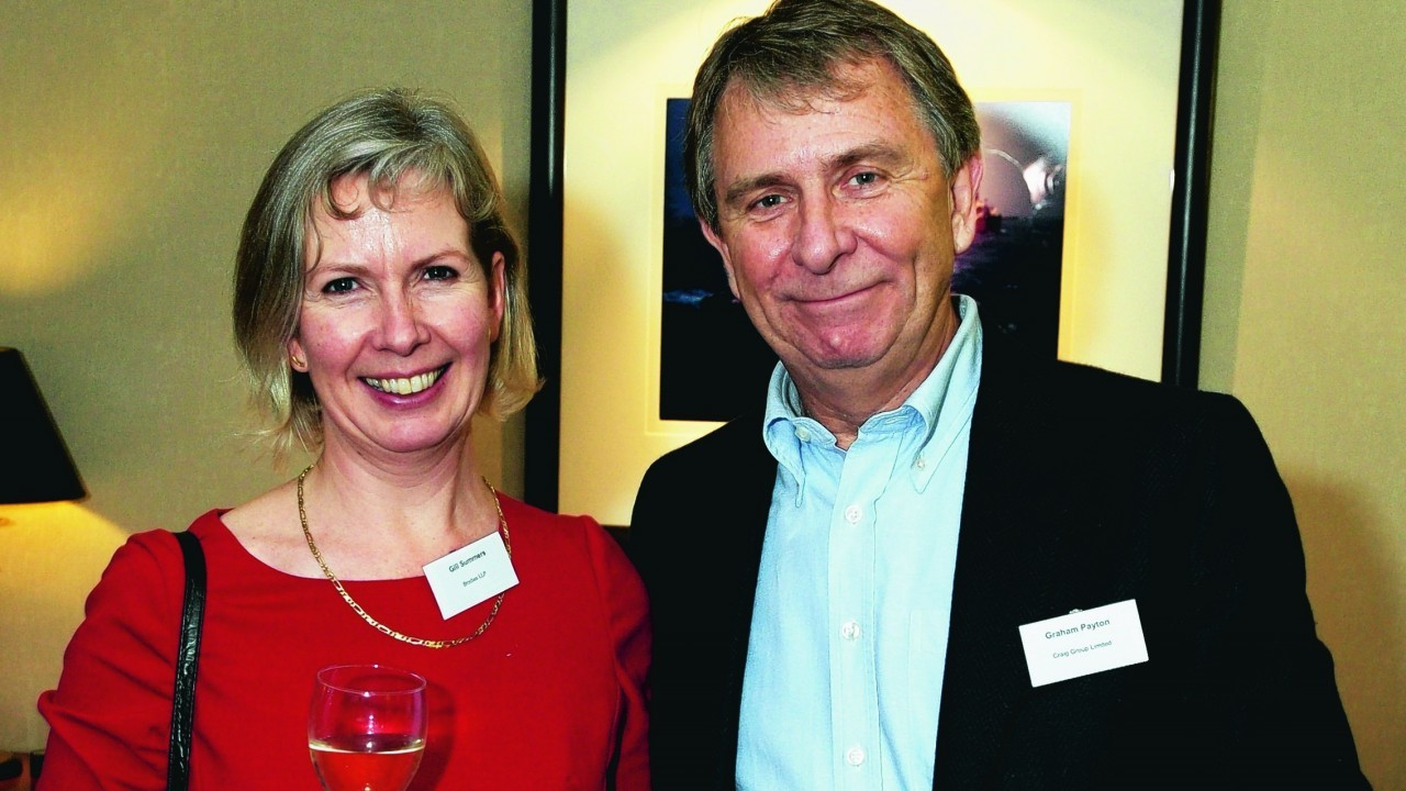 Gill Summers and Graham Payton.