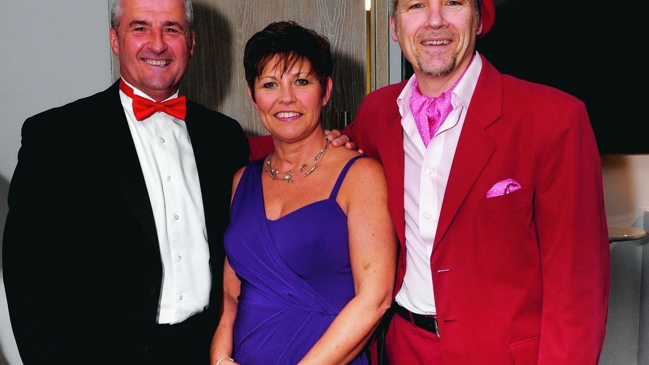 Gary and Carol Holman, with Patrice.