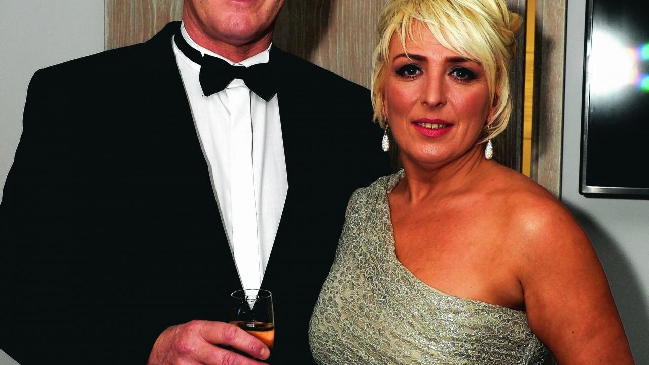Brian and Brenda Garrett.