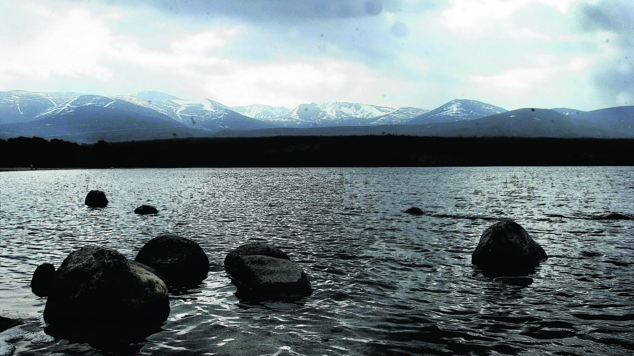 Loch Morlich is one of the spots that will be documented by the project
