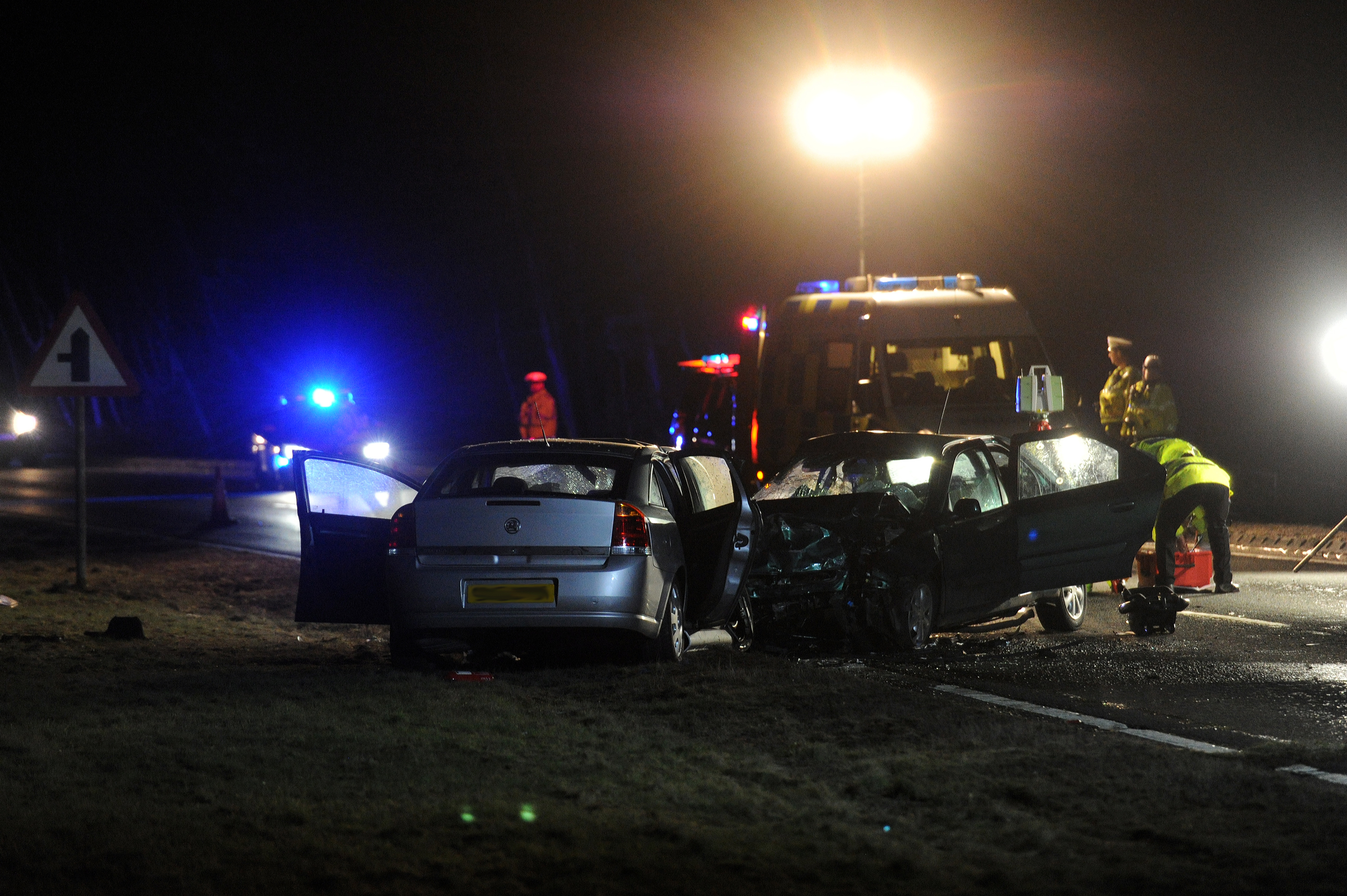 RTC on the A9 near Bankfoot