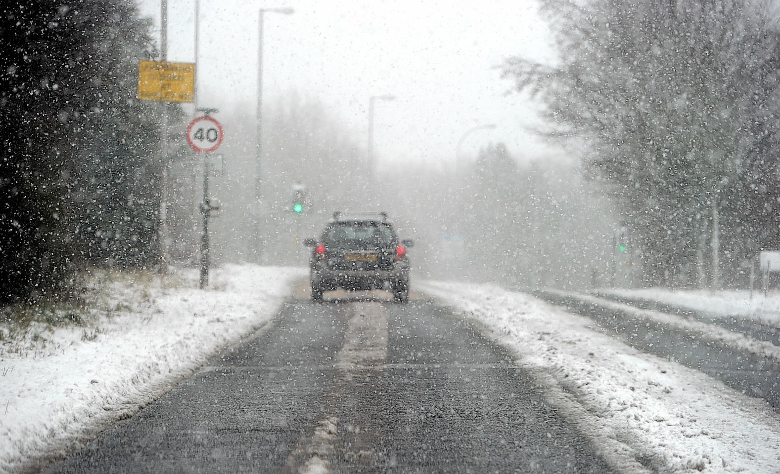 Snow is expected to return to large parts of Scotland this evening