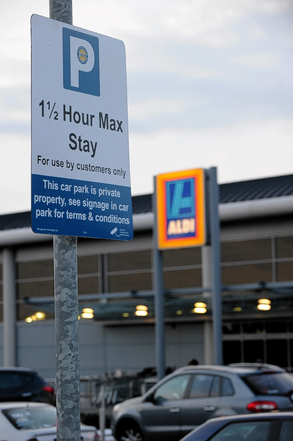 Aldi at Westhill