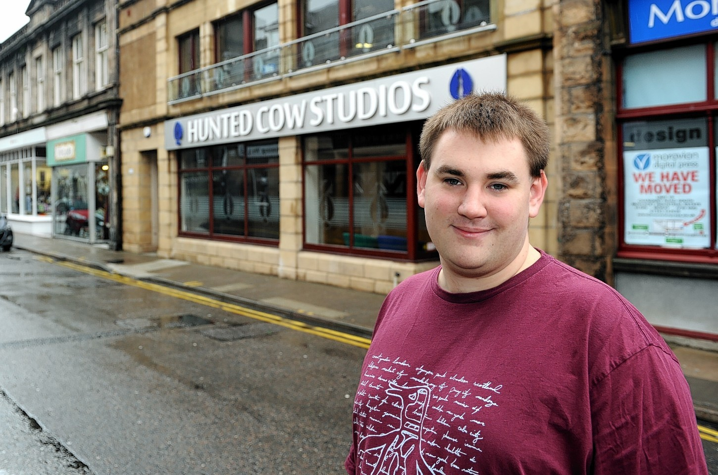 Andrew  Mulholland of Hunted Cow looks forward to Moray Game Jam 2015